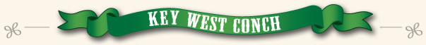 key west conch banner