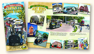 conch tour train brochure