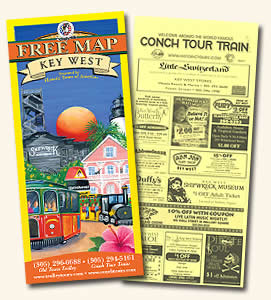 map cover and coupons