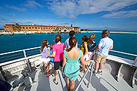 fort jefferson and yankee freedom ferry