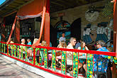 people eating outdoors at El Meson de Pepe Restaurant