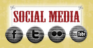 social media and icons